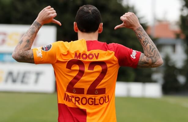 Galatasaray sign Kostas Mitroglou on loan