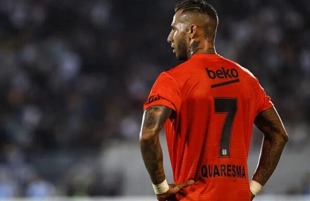 Ricardo Quaresma leaves Besiktas