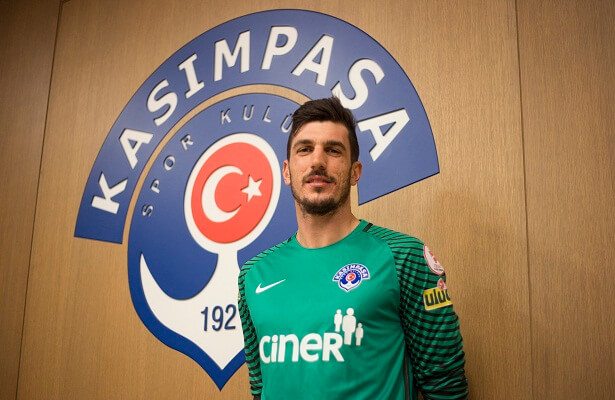 Kasimpasa loan goalkeeper Scuffet from Udinese