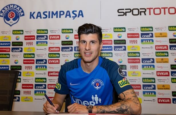 Kasimpasa loan Udinese forward Stipe Perica