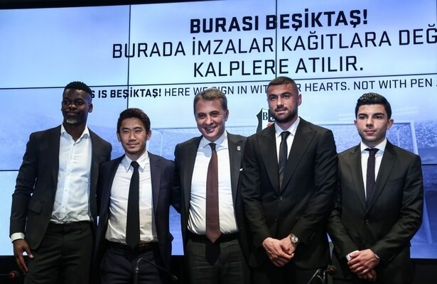 Besiktas show off new transfers, hope for success