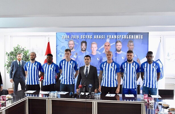 Erzurumspor spent €7.5m on transfers
