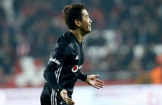 Kagawa scores brace in 2 minutes on Besiktas debut
