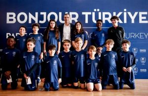 PSG academy for football opened in Istanbul