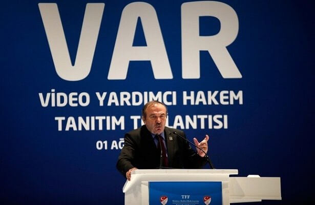 Chief of Turkish Referee Committee resigns