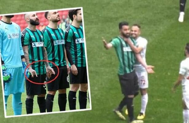 Kurdish player Mansur Calar slashes opponents in third-tier clash