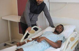 Bernard Mensah out for 6 weeks