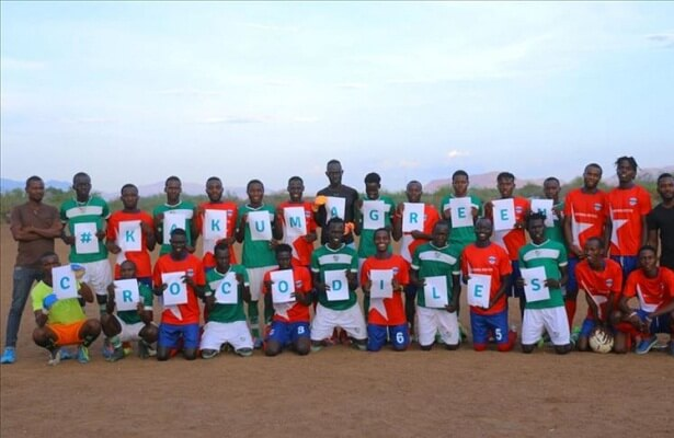 Bursaspor donates to Kenyan refugee team Kakuma United