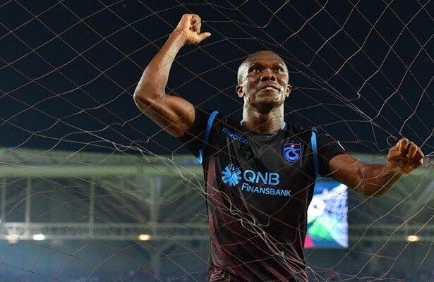 Trabzonspor's Anthony Nwakaeme in hot form