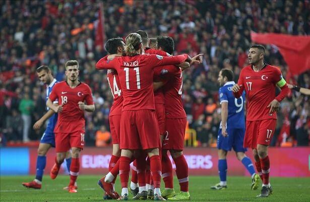 Turkey moves up in FIFA rankings
