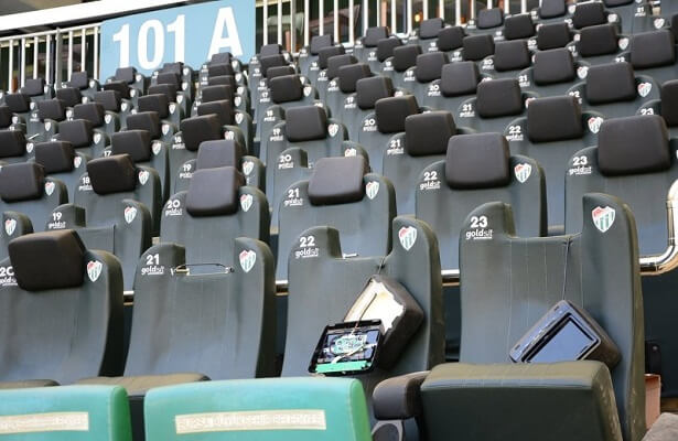 Bursaspor stadium trashed after lower league playoffs