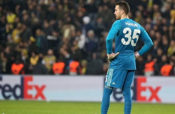 Watch: Fenerbahce goalkeeper suffers embarrassing blunder