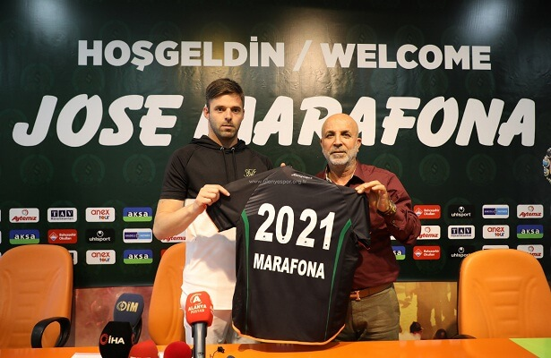 Alanyaspor sign Braga goalkeeper Jose Marafona