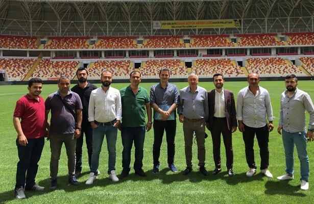 UEFA inspect Malatyaspor stadium