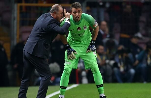 """Fernando Muslera hails Fatih Terim as """"best coach"""""""