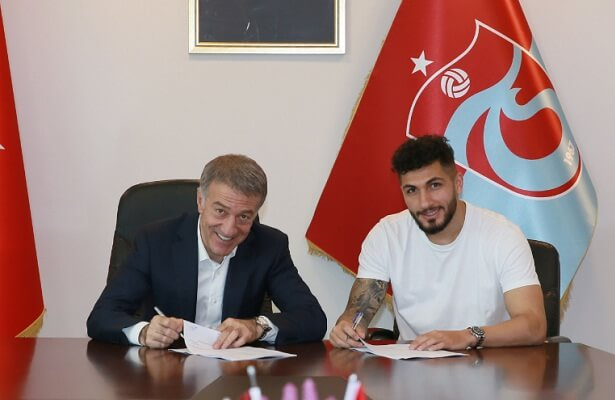 Trabzonspor right-back Kamil Corekci signs contract extension