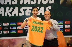 Alanyaspor sign AEK Athens midfielder Bakasetas
