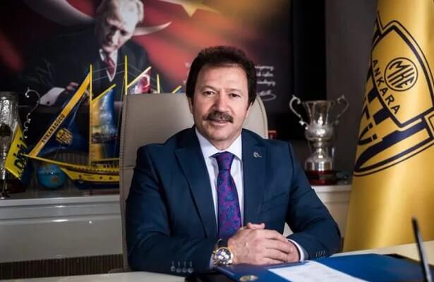 Ankaragucu search for new coach despite transfer ban, says president mehmet yiginer