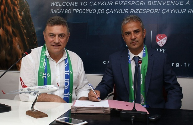 Ismail Kartal appointed coach of Rizespor