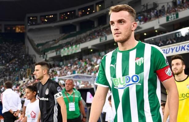Italian club Lecce bid for Bursaspor defender Ertugrul Ersoy