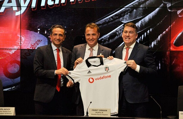 Besiktas renew Vodafone sponsorship