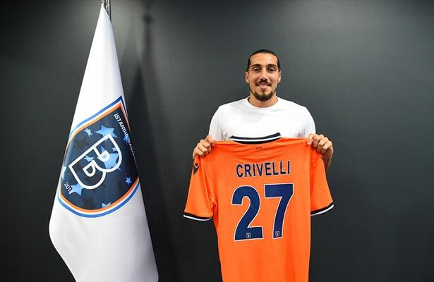 Istanbul Basaksehir sign forward Enzo Crivelli