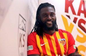 Emmanuel Adebayor joins Kayserispor