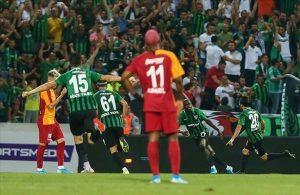 Denizlispor stun Galatasaray in league opener