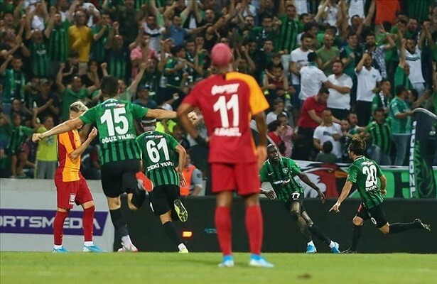 Denizlispor stun Galatasaray in league opener