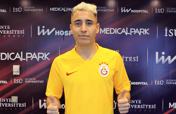 Emre Mor joins Galatasaray on loan