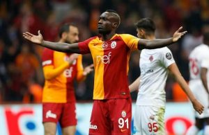 Galatasaray striker Diagne to be sold this month, Al Rayyan in talks