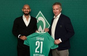 Turkey defender Omer Toprak joins Werder Bremen