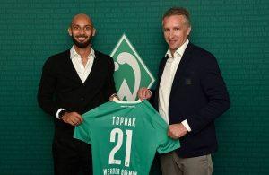 Turkey defender Omer Toprak joins Werder Bremen