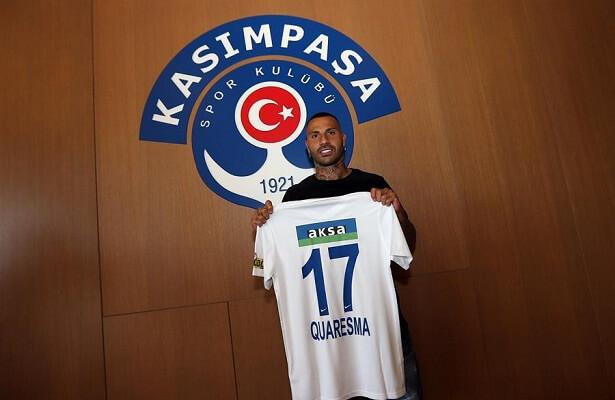 Ricardo Quaresma leaves Besiktas for Kasimpasa