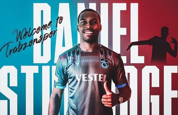 English striker Daniel Sturridge joins Trabzonspor