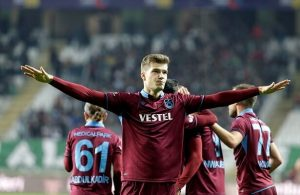 Trabzonspor striker Sorloth closing in on club record
