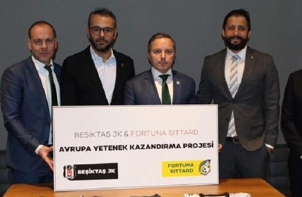 Besiktas ink scouting partnership with Dutch club