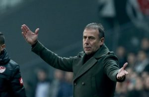 Besiktas sack coach Abdullah Avci