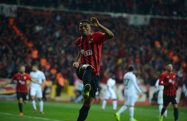 Eskisehirspor winger Jesse Sekidika set to join Galatasaray