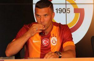 Lukas Podolski responds to Rizespor transfer rumour