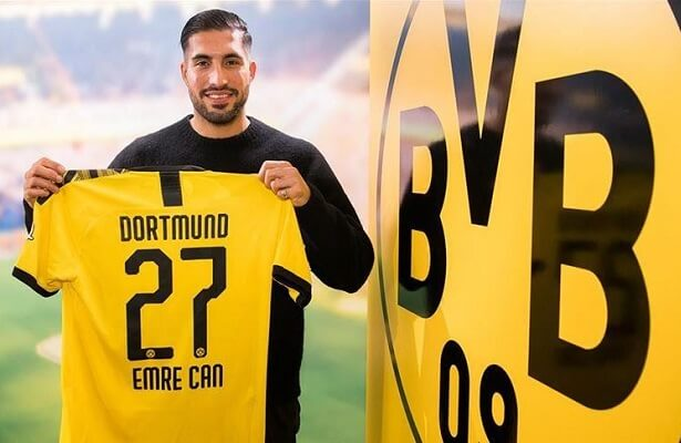 Emre Can joins Borussia Dortmund for €25m
