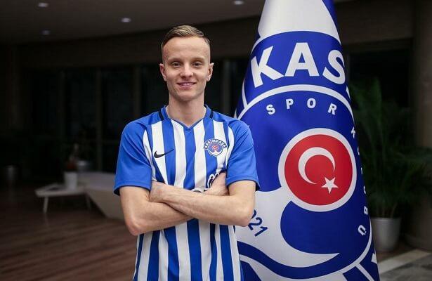 Kasimpasa loan Huddersfield Town right-back Hadergjonaj