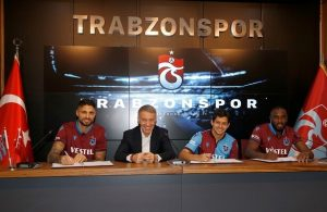 Trabzonspor sign three players on final day of transfer window